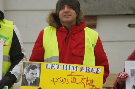 1459193 10202527742183960 1031518304 n تجمع اعتراضی حمایتی برای عبدالفتاح سلطانی در شهر هارشتاد نروژ