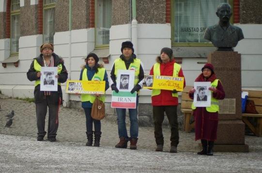 1450316 10202527759024381 833007361 n تجمع اعتراضی حمایتی برای عبدالفتاح سلطانی در شهر هارشتاد نروژ