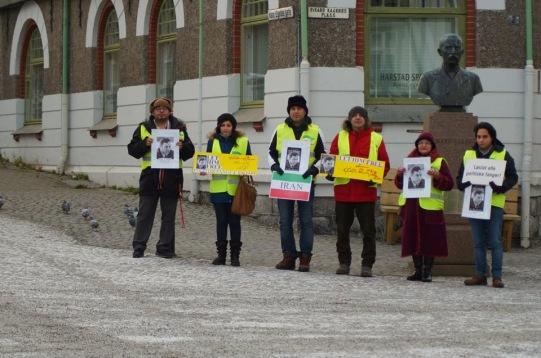 1451523 10202527754344264 806745252 n تجمع اعتراضی حمایتی برای عبدالفتاح سلطانی در شهر هارشتاد نروژ
